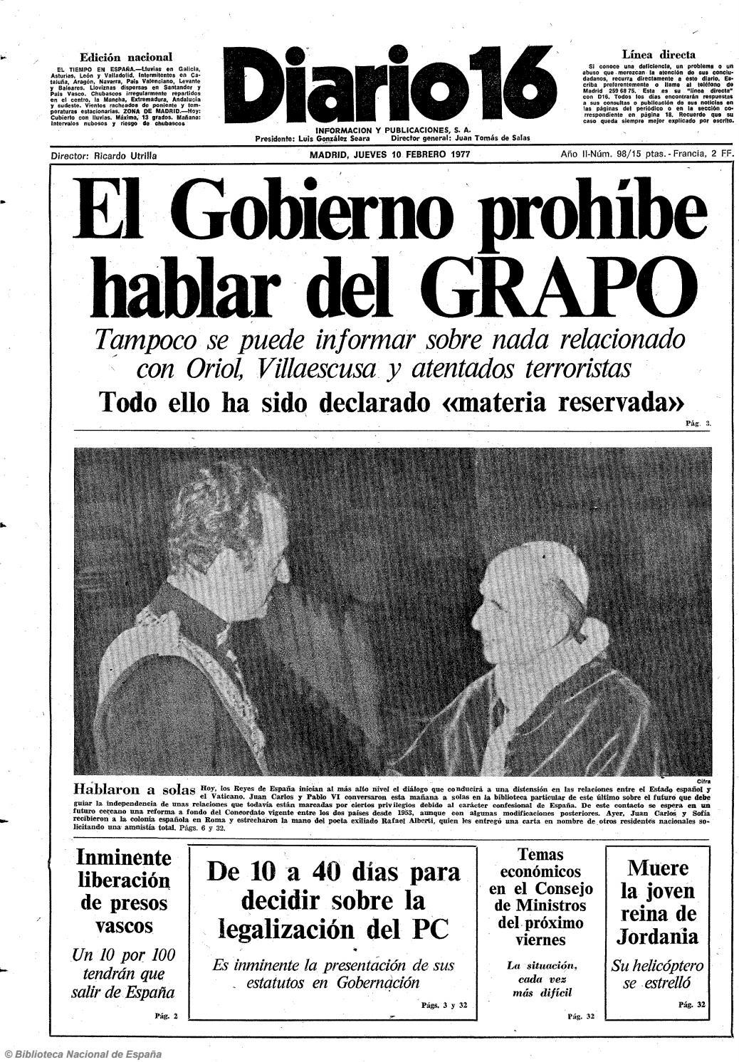 Actriz Porno Valladolid Española diario 16. 10-2-1977diario16deburgos - issuu