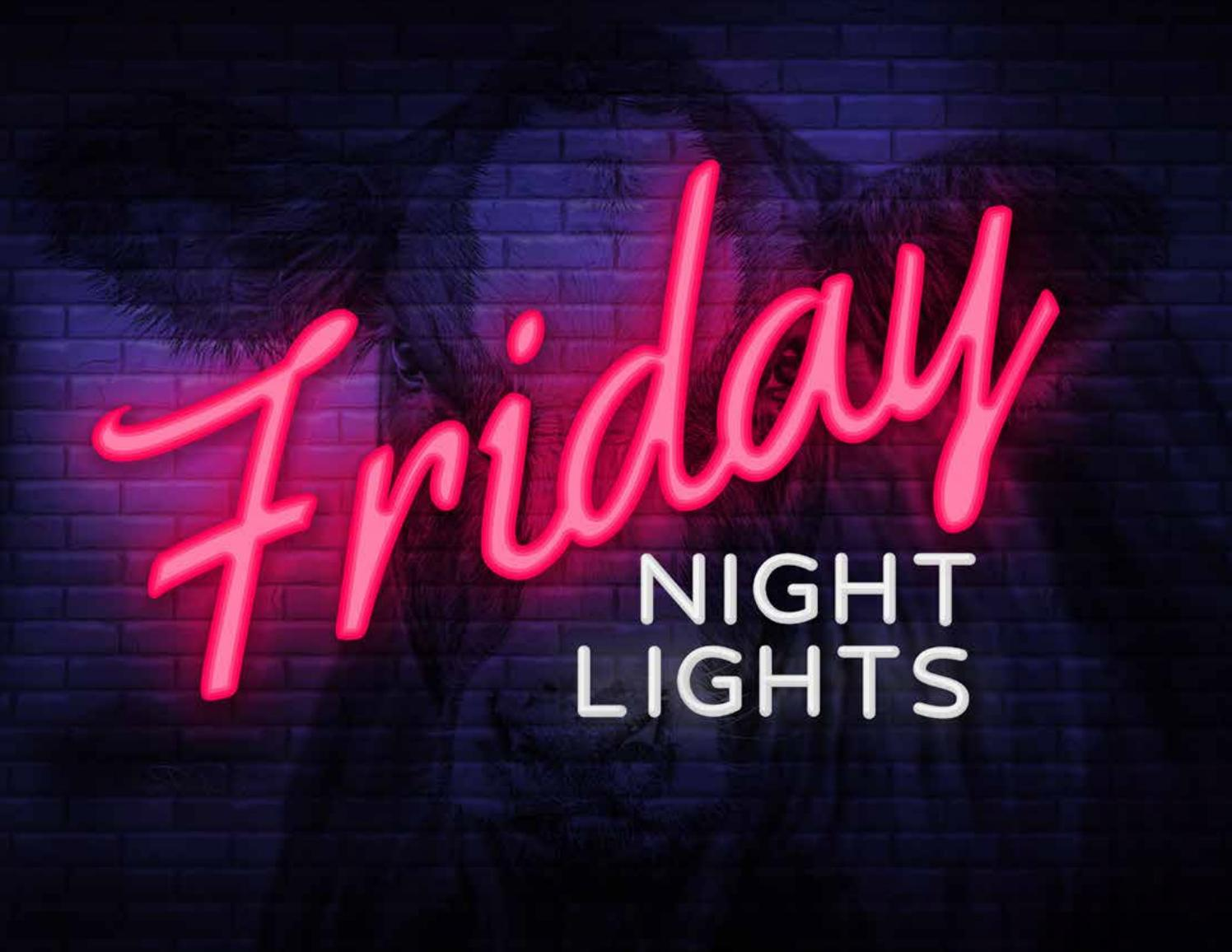 Friday Night Lights 2018 By Bohrson Marketing Services Ltd Issuu