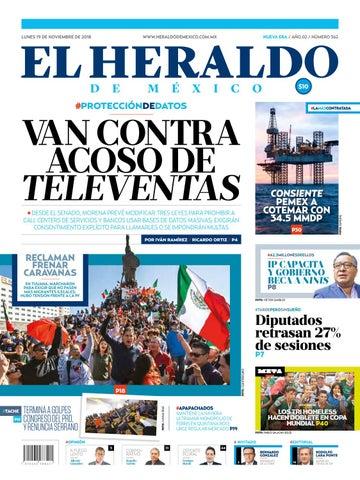 19 de noviembre 2018 by El Heraldo de México - issuu eed1e5a42ea3f