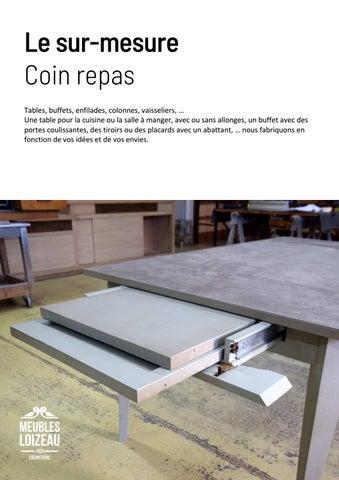Page 18 of Sur-mesure COIN REPAS