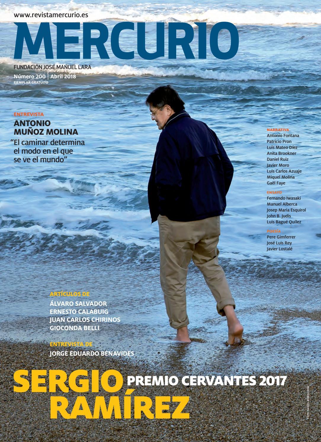 Mercurio 200 - Sergio Ramírez. Premio Cervantes 2017. by mario guerola -  issuu