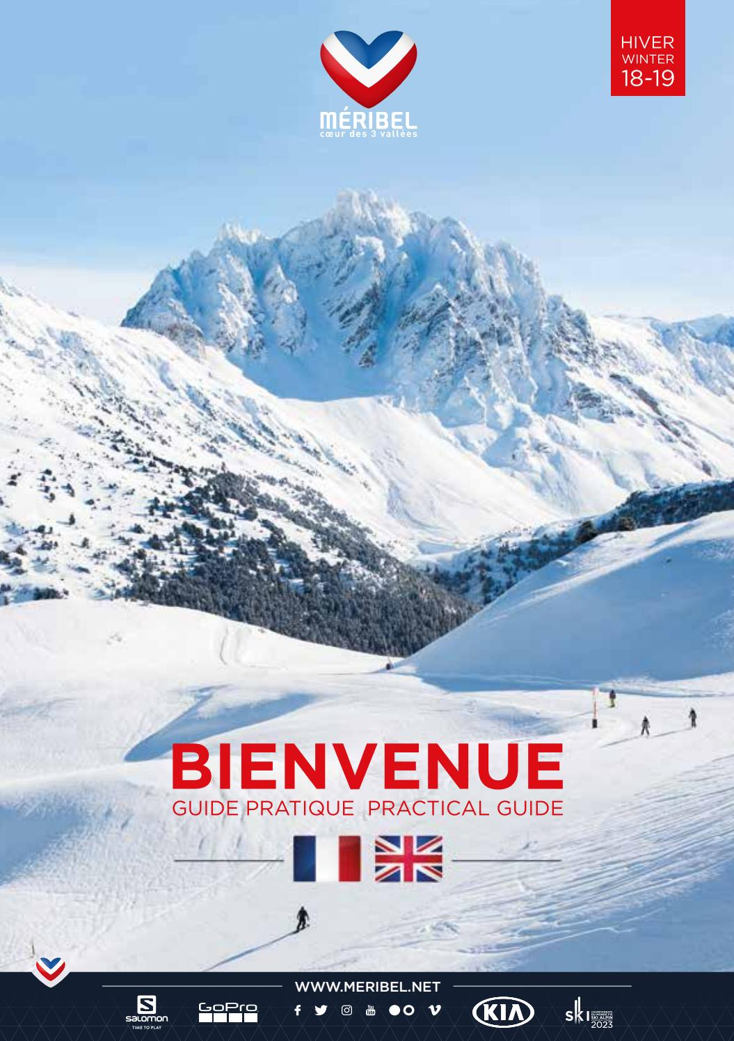 0c21cb72b8e30c Bienvenue Méribel - Hiver 2018 19 by Méribel Tourisme - issuu