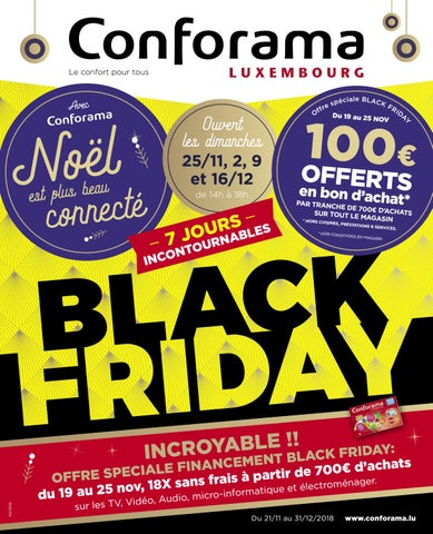 Doc05 Black Friday By Conforama Luxembourg Issuu