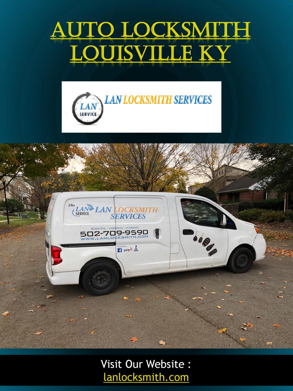 Auto Locksmith Louisville KY by trunk unlock Louisville, KY