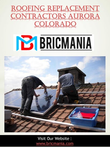 Roofing Replacement Contractors Aurora Colorado by Local Roofers