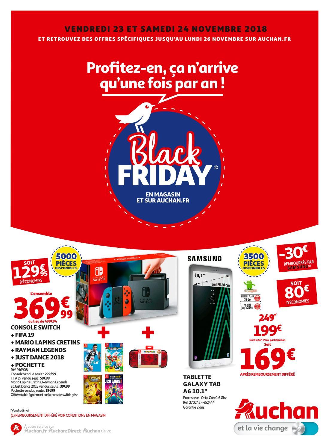 Auchan Black Friday 2018 By Schiever Issuu