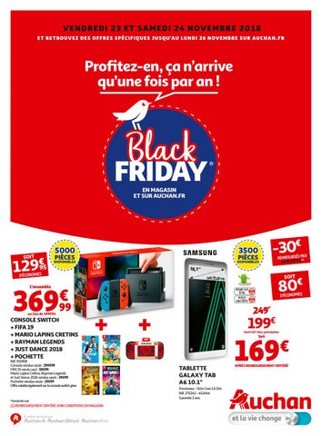 Auchan Black Friday 2018 By Schiever Issuu