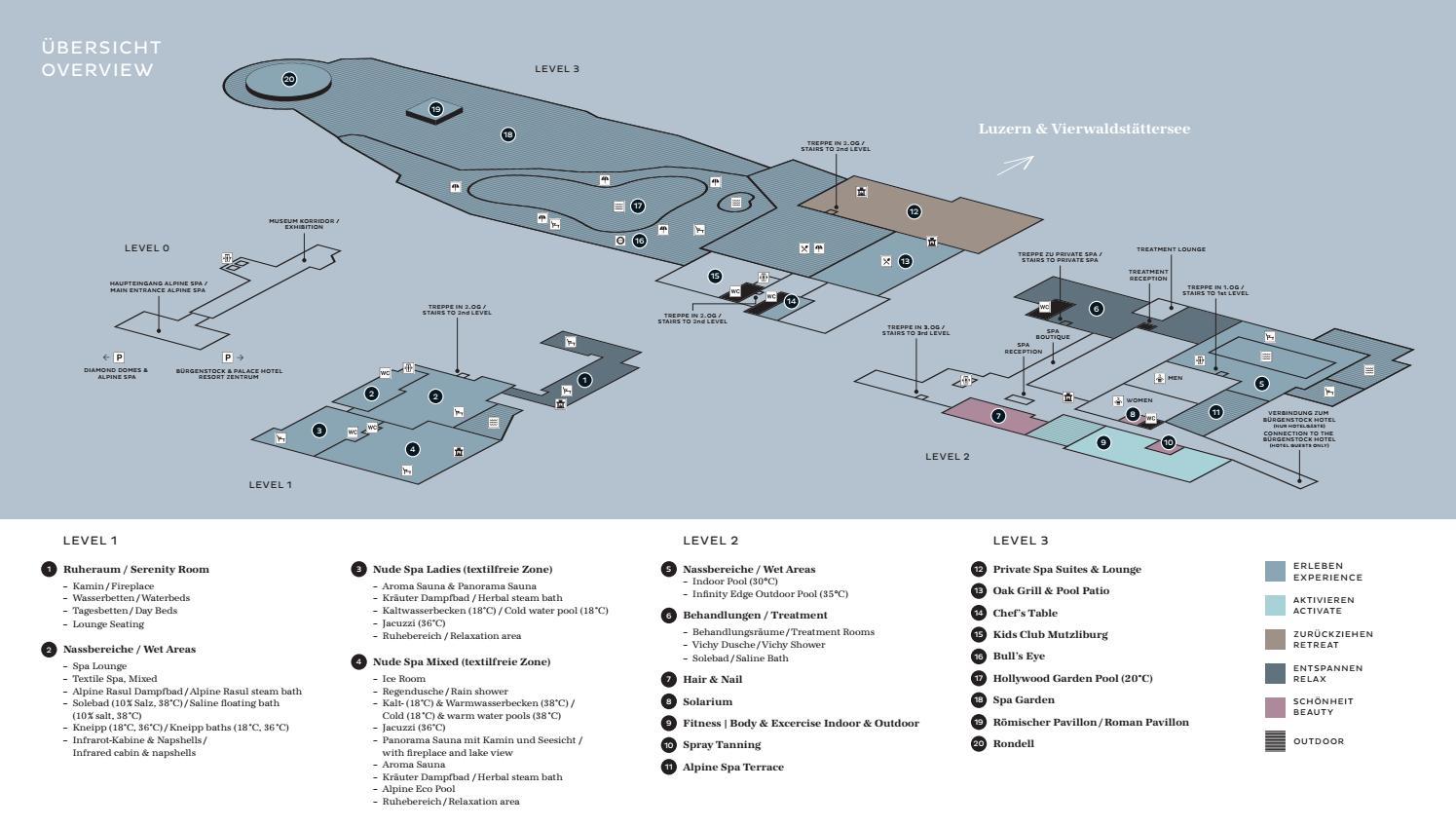 B 252 Rgenstock Alpine Spa Floor Plan Overview By The