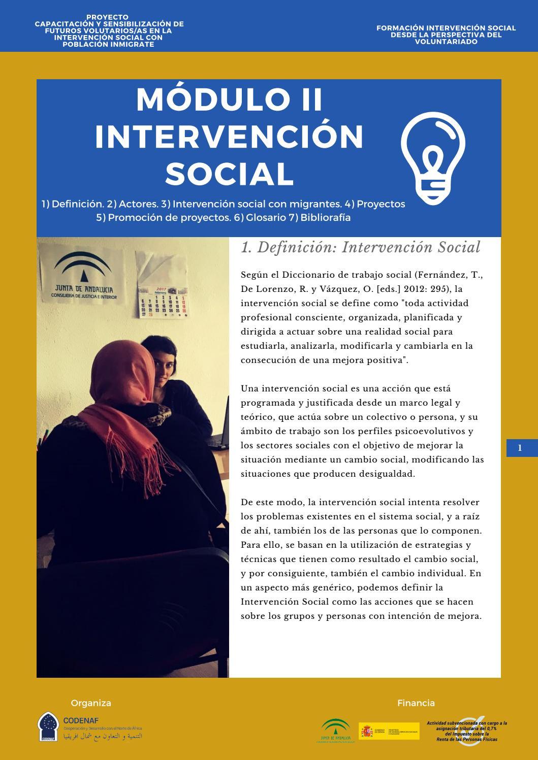 Módulo Ii Intervención Social By Codenaf7 Issuu