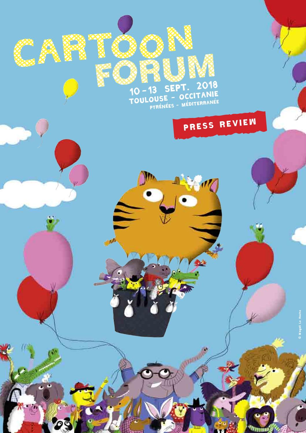 Cartoon Forum 2018 - Press Review by CARTOON - issuu fc3969fc85