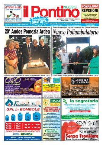 online retailer 09506 efdd7 IL PONTINO NUOVO - Anno XXXIII - N. 20 - 16 30 Novembre 2018 by Il ...