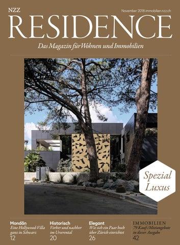 Residence November 2018 By Nzz Residence Issuu