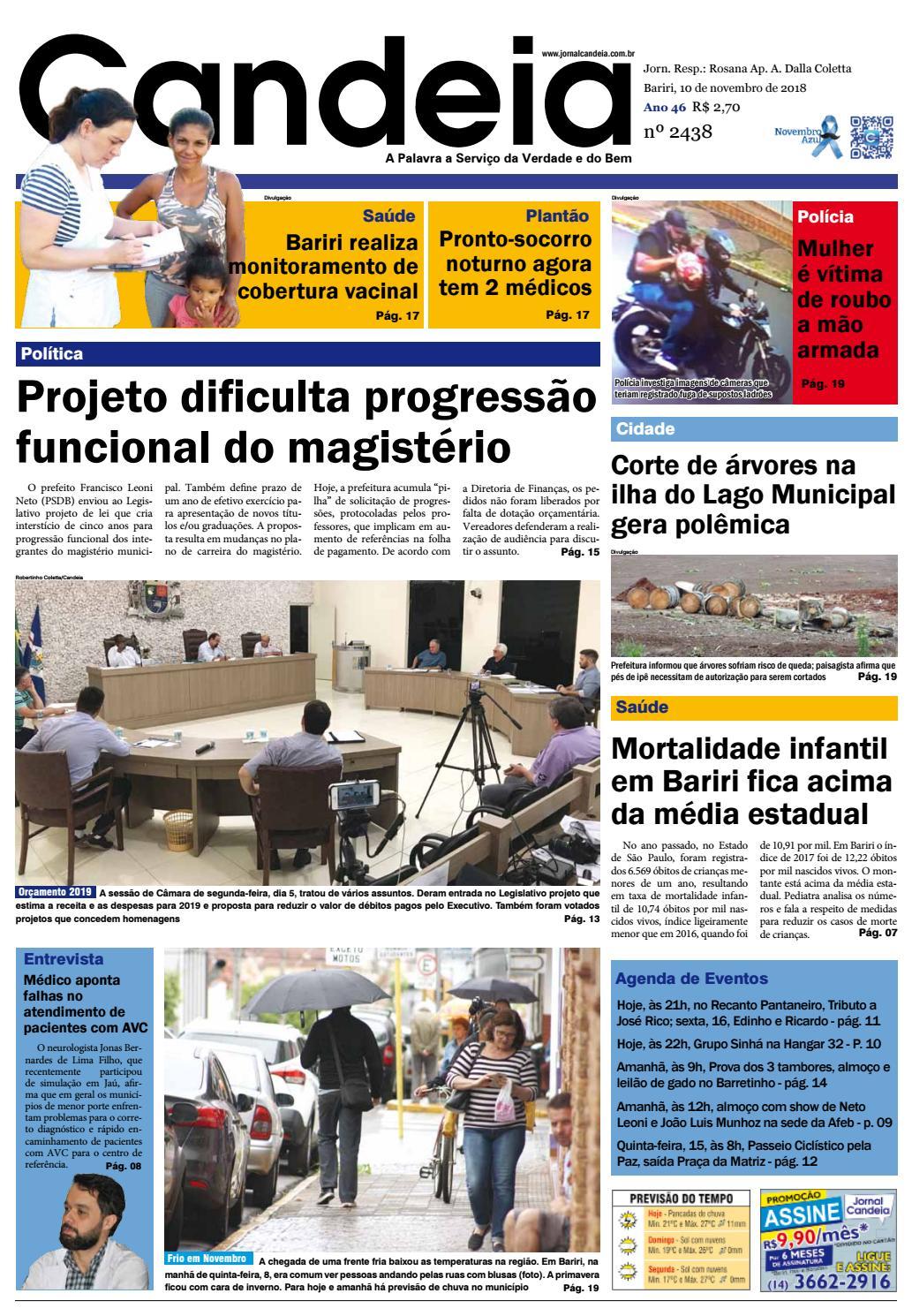 6a715044c Jornal Candeia 10-11-2018 by Jornal Candeia - issuu