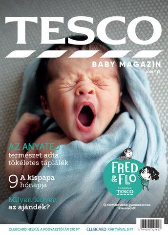 Tesco Baby Magazin Magyarország 2018. tél by Tesco Baby Magazyn - issuu f7bd68e158