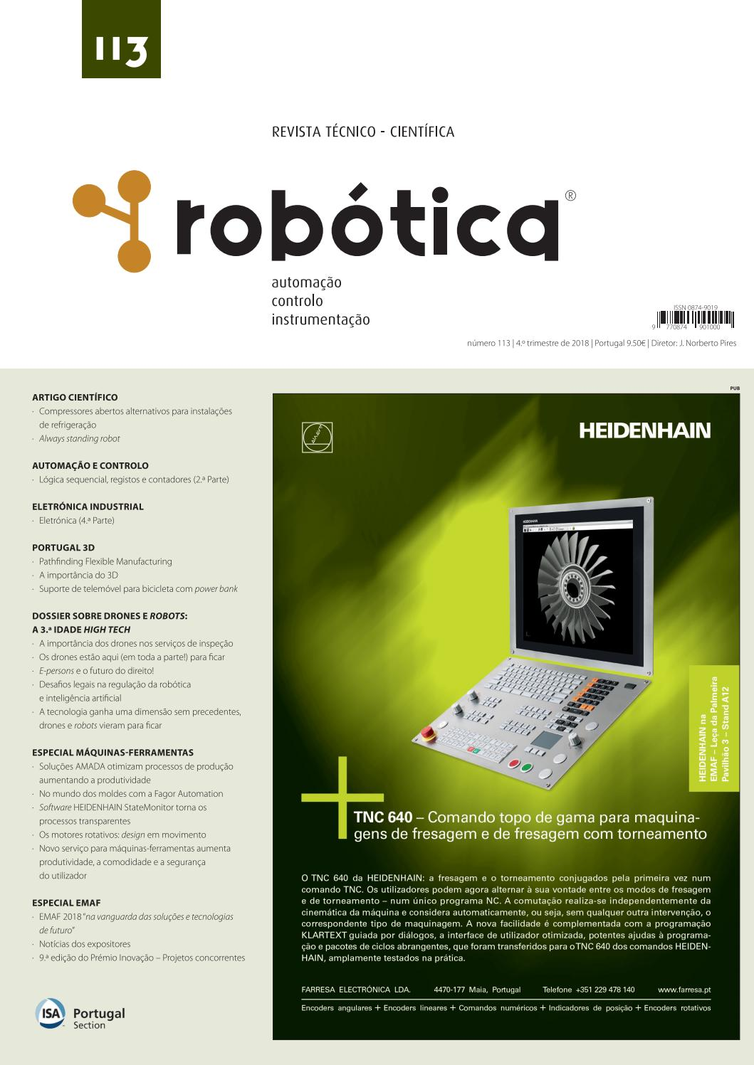 fb92265f2b173 Revista Robótica 113 by Revista Robotica - issuu