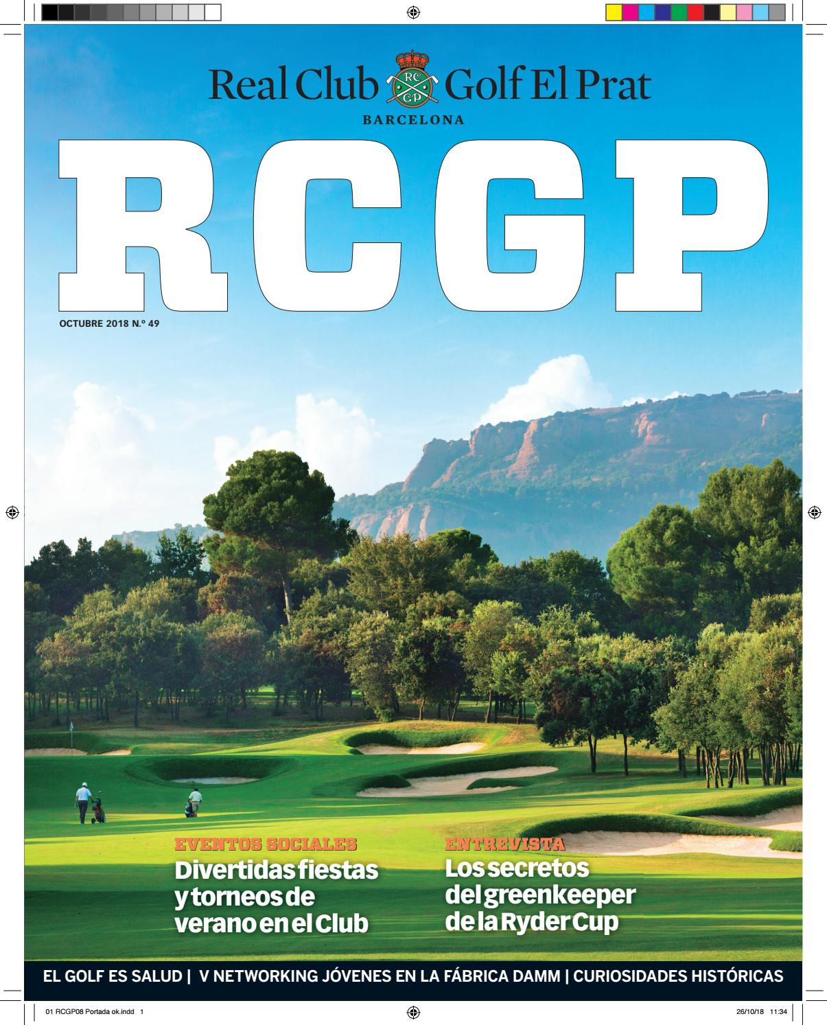 822431f89008d revista octubre 2018 by Real Club de Golf El Prat - issuu