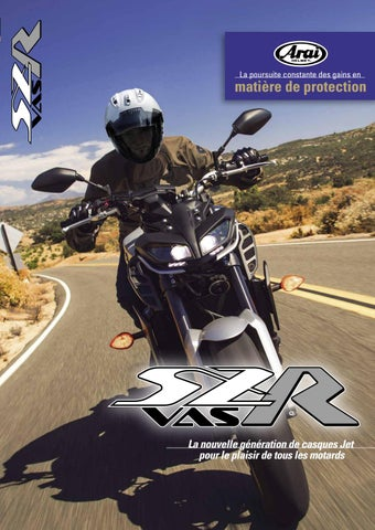 df5ecfdd SZ-R VAS Brochure (FRA) by Arai Helmet (Europe) B.V. - issuu