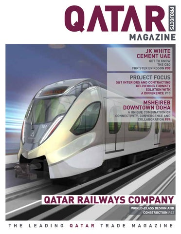 Qatar projects magazine issue by media counsel issuu