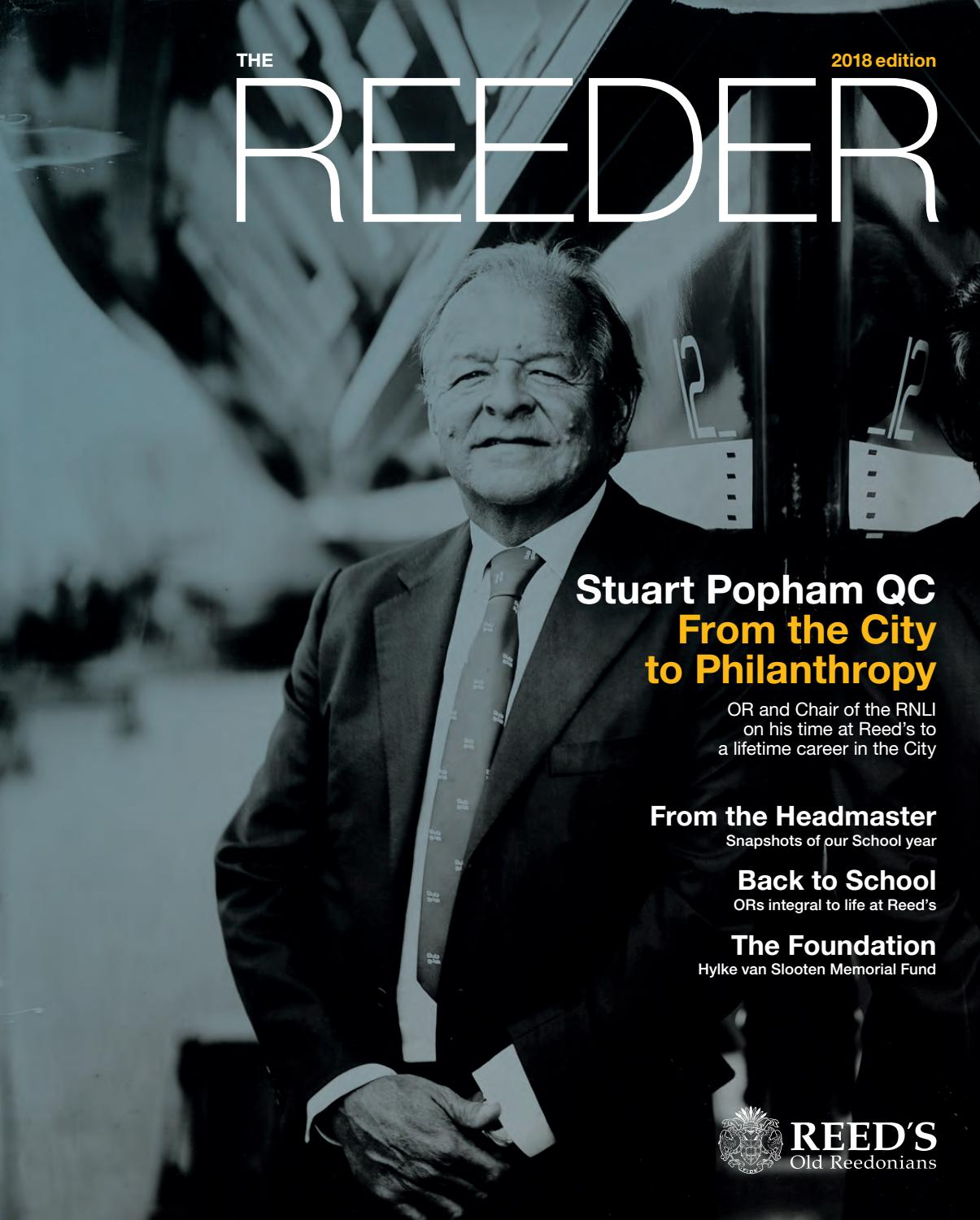 The Reeder 2018 By Reed S School Issuu