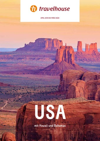 Travelhouse Usa April 19 Bis Marz 20 By Hotelplan Suisse Mtch Ag