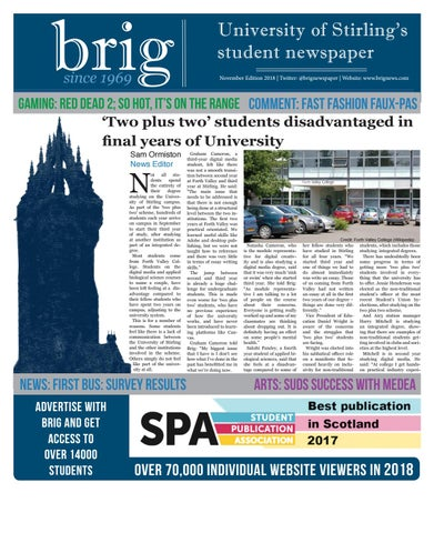 Brig Newspaper- November 2018 Edition by Brig Newspaper - issuu