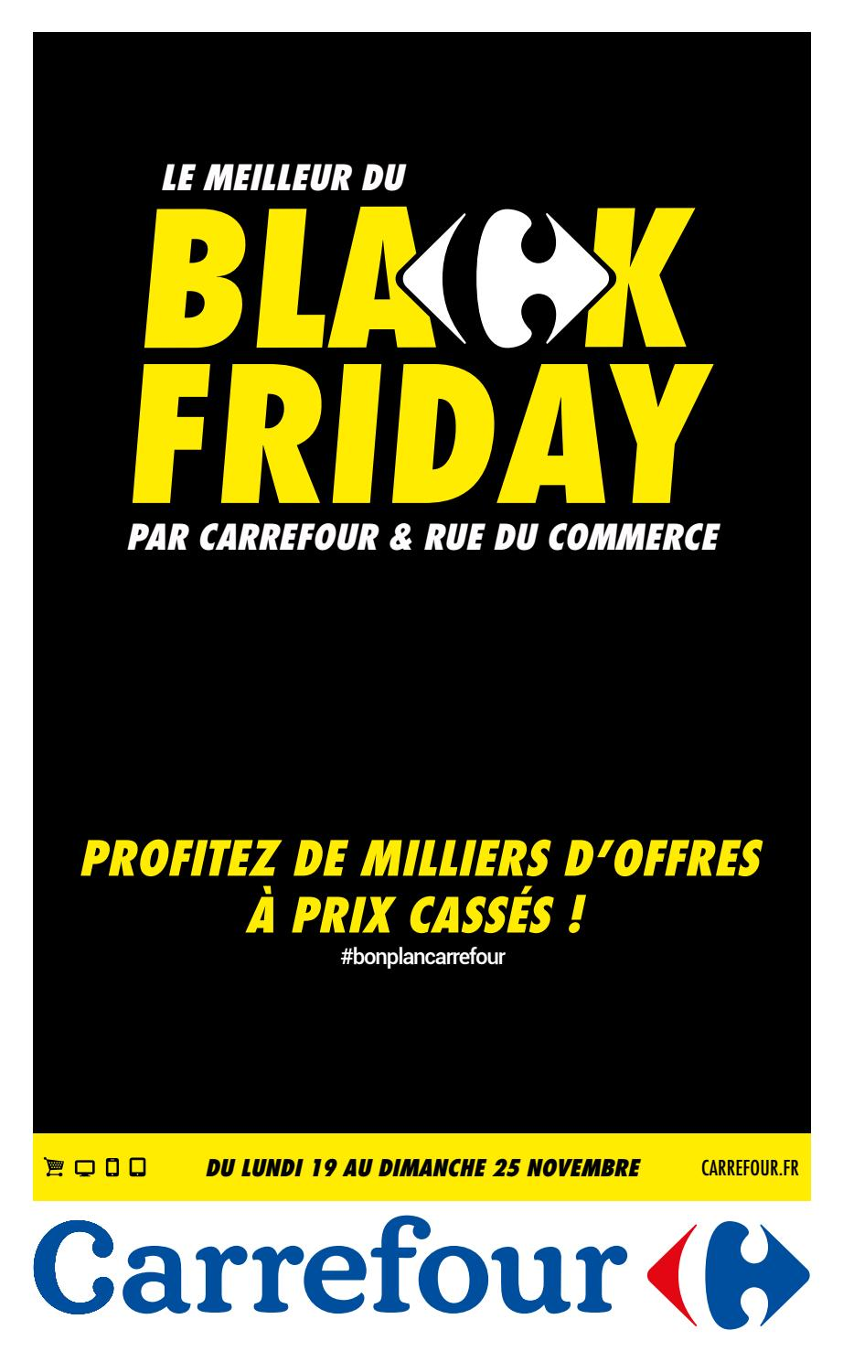 Httpcalendrier Carrefourdrivecom.Catalogue Carrefour Black Friday By Monsieurechantillons Fr