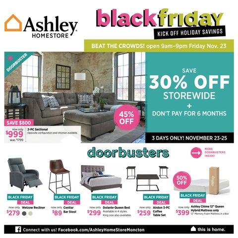 Ashley Homestore Moncton Black Friday Sale By Ashley Homestore Atlantic Issuu