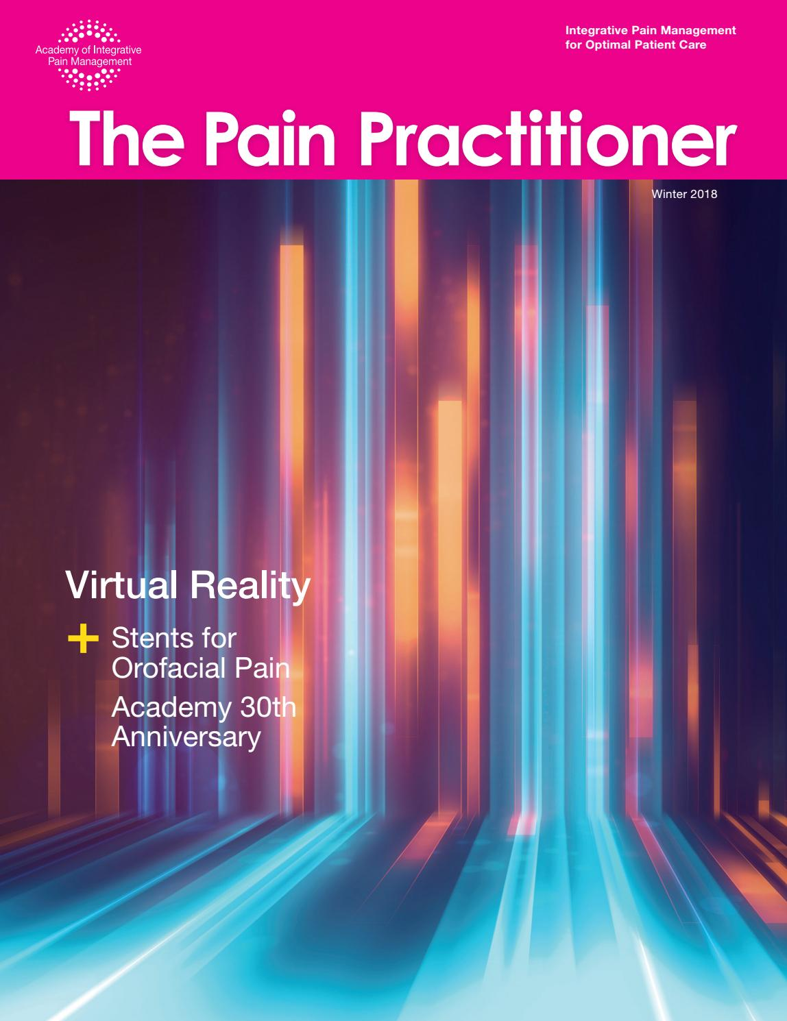 The Pain Practitioner - Virtual Reality by Academy of ...