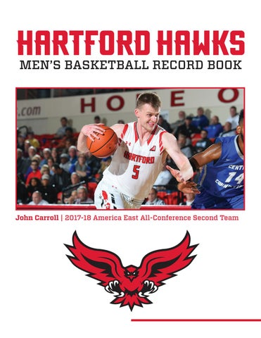 promo code 8eb23 41f55 Hartford Men's Basketball Record Book by HartfordHawks - issuu