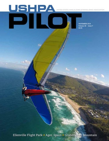 USHPA Pilot Vol48-Iss7 Nov 2018 by US Hang Gliding