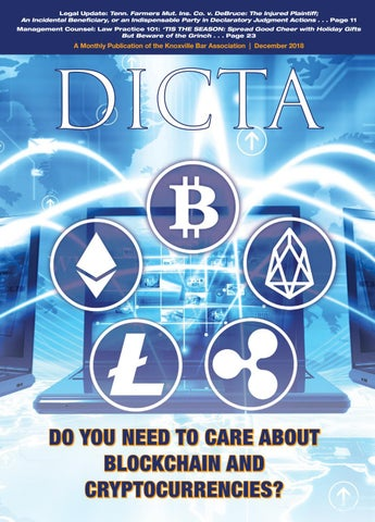 DICTA December 2018 by Knoxville Bar Association - issuu