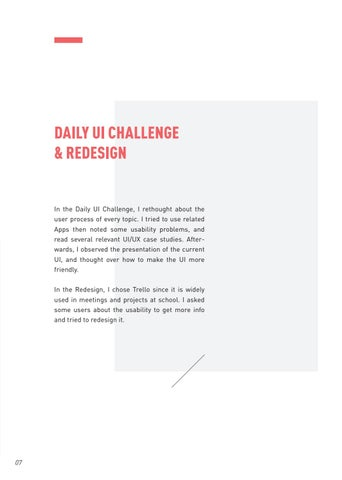 Page 10 of Daily UI Challenge & Redesign