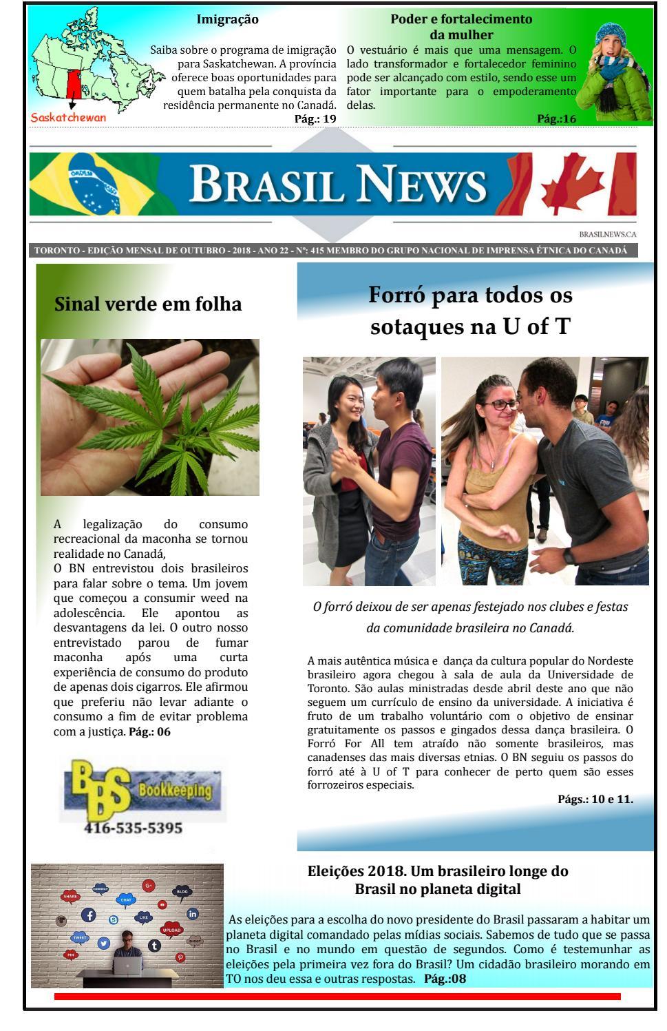 4a449c2e4 Brasil News edição de outubro by Portal Brasil News - issuu