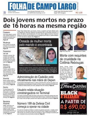 b728248547 Folha de Campo Largo by Folha de Campo Largo - issuu