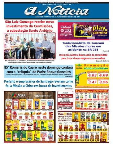 468aab0dd2 Edição de 17 e 18 de novembro de 2018 by Jornal A Notícia - issuu