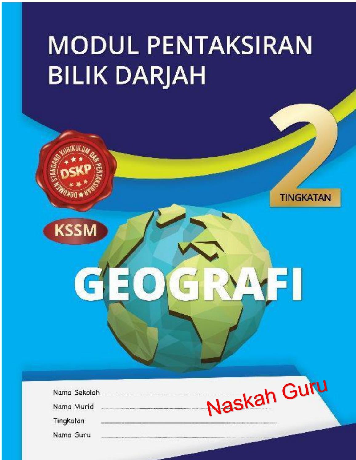 Jawapan Modul Pbd Geografi Tingkatan 2 By Rosdidaud74 Issuu