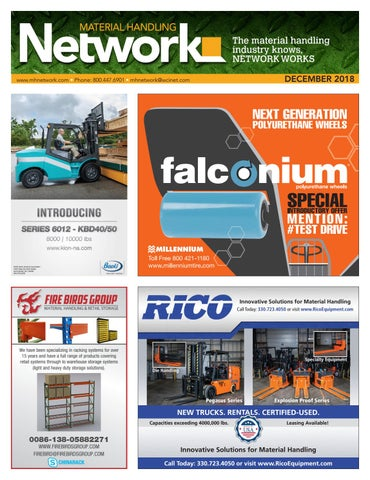 Material Handling Network December 2018 by Material Handling Network