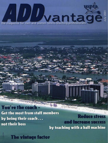 ff5d319e1 Addvantage 2001 July by USPTA - issuu