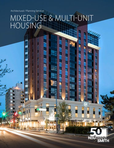 Neumann/Smith Mixed-Use + Multi-Unit Housing Design by