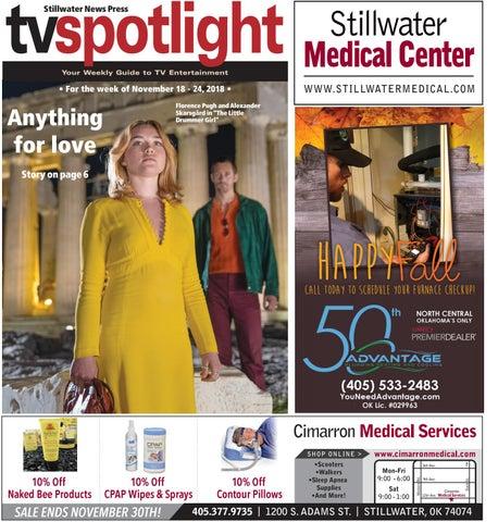 05681d721 TV Spotlight 11-18-18 by Stillwater News Press - issuu