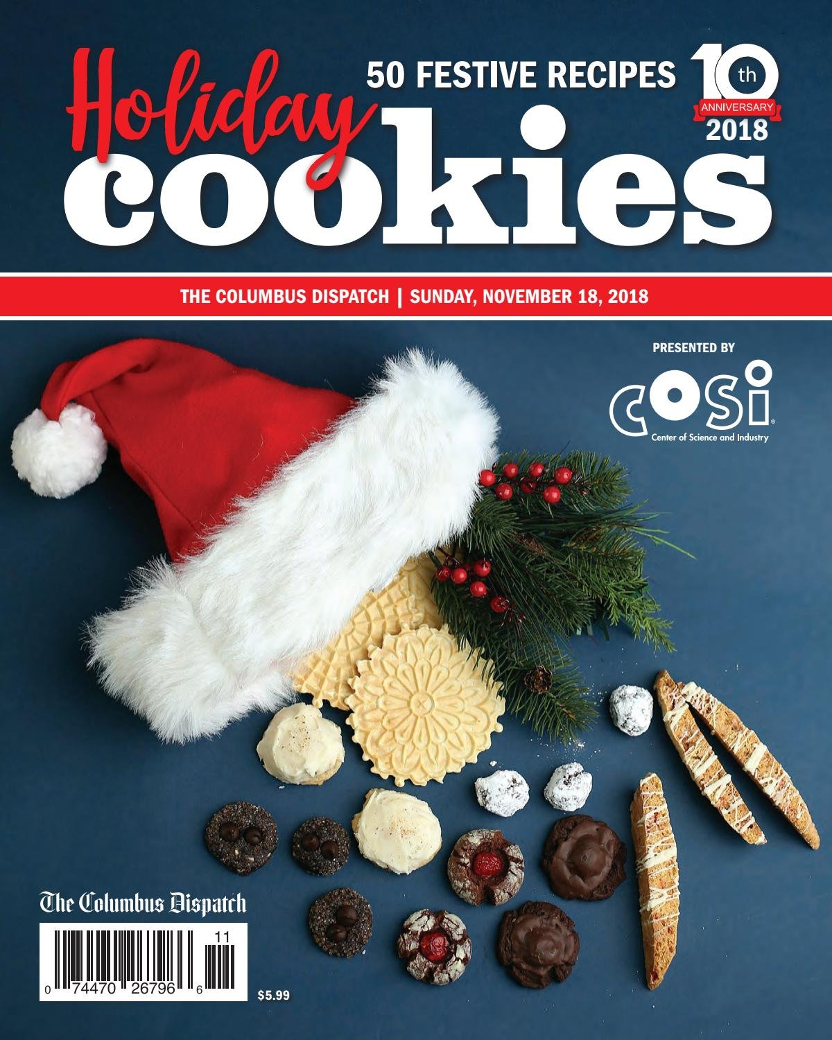 Dispatch Holiday Cookie Guide 2018 By The Columbus Dispatch Issuu