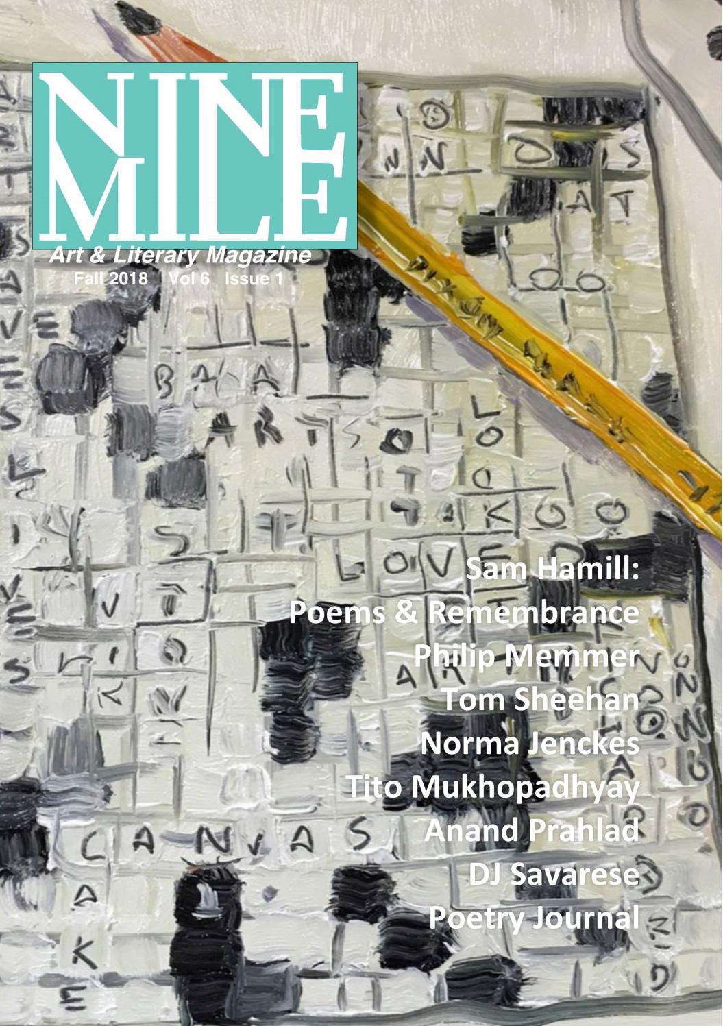 Nine Mile Magazine Fall 2018 - Sample by Bob Herz - issuu