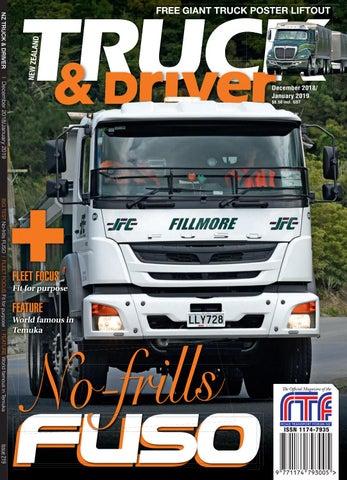 NZ Truck & Driver Dec18/Jan19 issue by NZ Truck & Driver - issuu