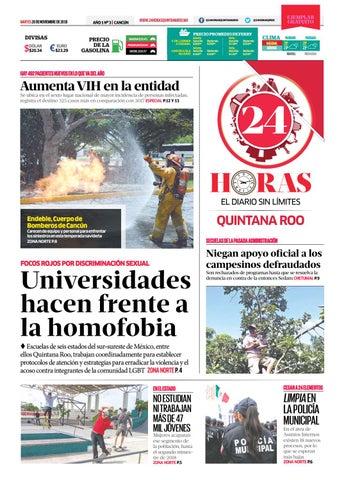 Noviembre Quintana Issuu 20 By 24 2018 Roo Horas 3uTlFK1cJ