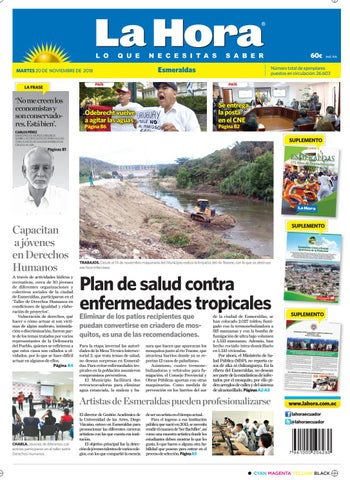 ed3faa364 Esmeraldas 20 de noviembre de 2018 by Diario La Hora Ecuador - issuu