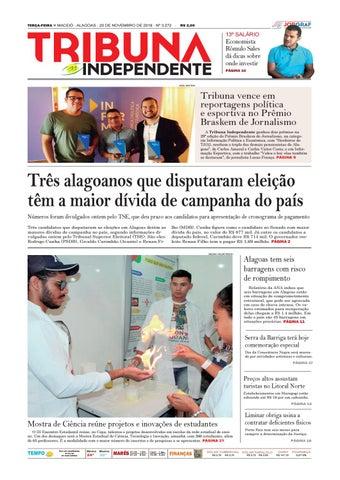 17c30d20fc Edição número 3272 - 20 de novembro de 2018 by Tribuna Hoje - issuu