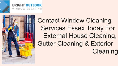 Contact Bright Outlook Cleaning For Window Services Es Today