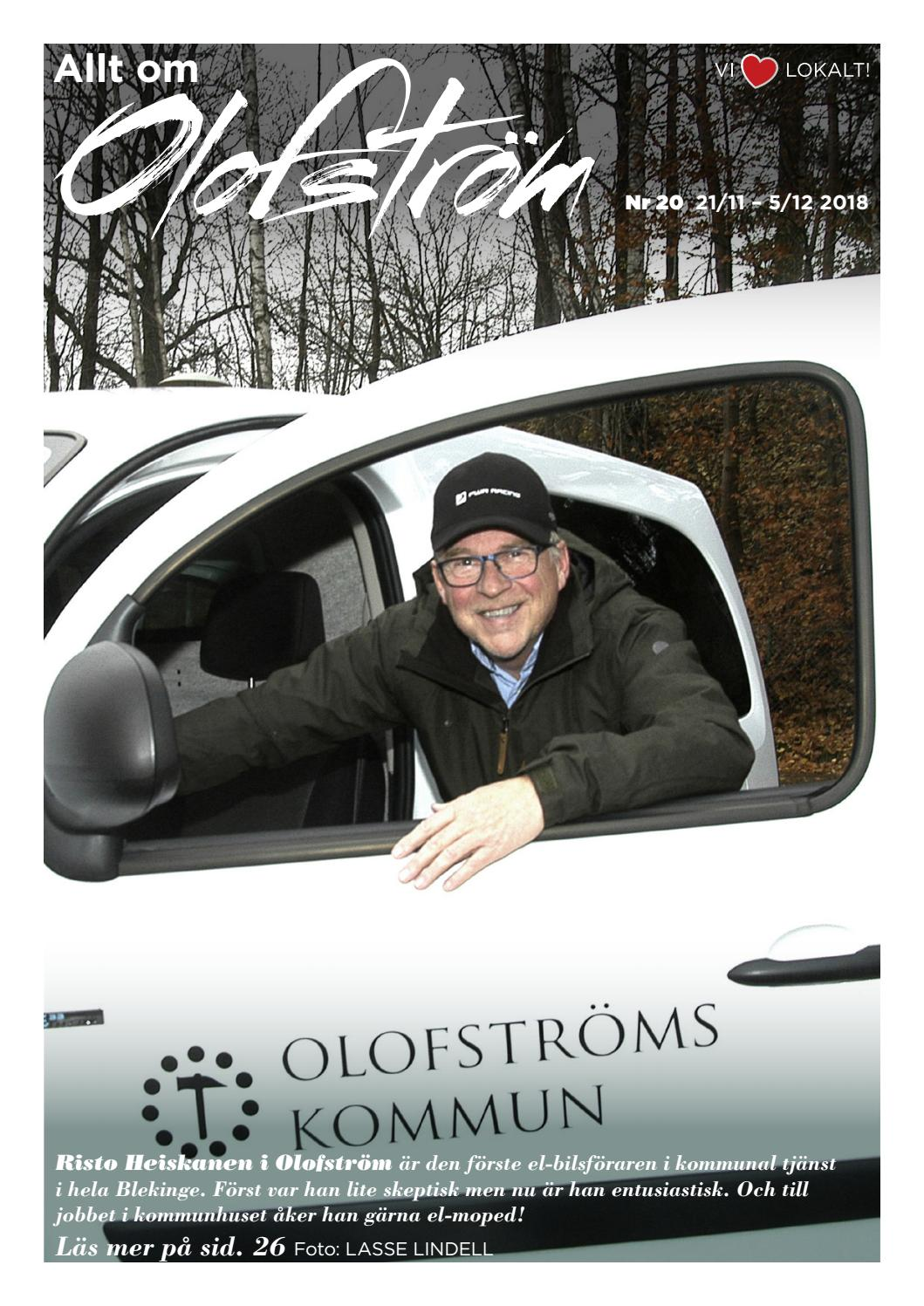Allt om Olofström nr. 20 2018 by Espresso reklambyrå - issuu 4076e8b83d452