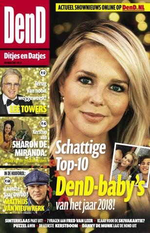 Dend Magazine 12 2018 By Dend En Oranje Boven Issuu
