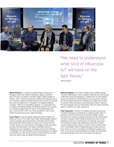 Page 41 of Internet of Things and lighting design